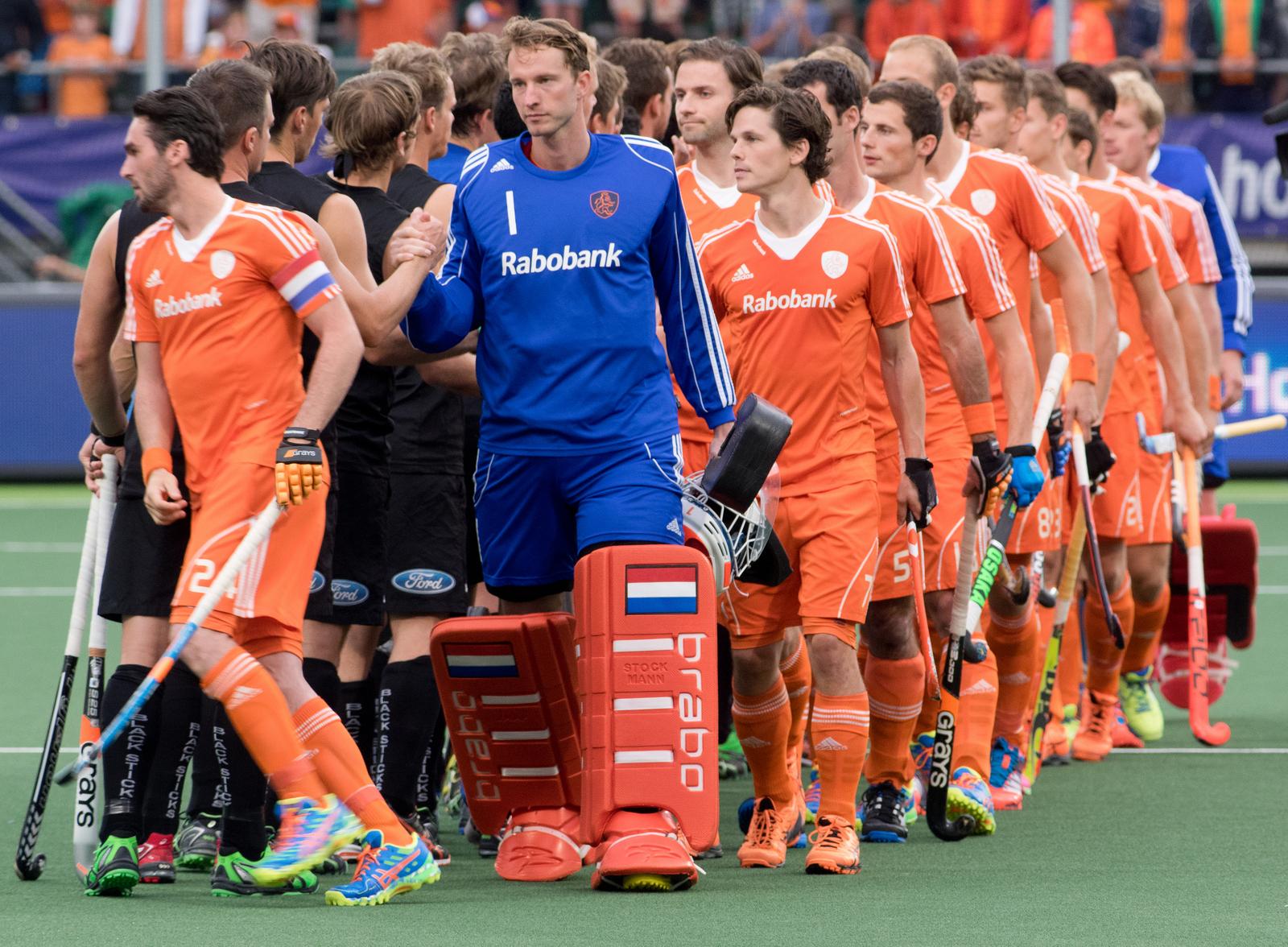 Nederland Oranje Nieuw Zeeland WK heren RU