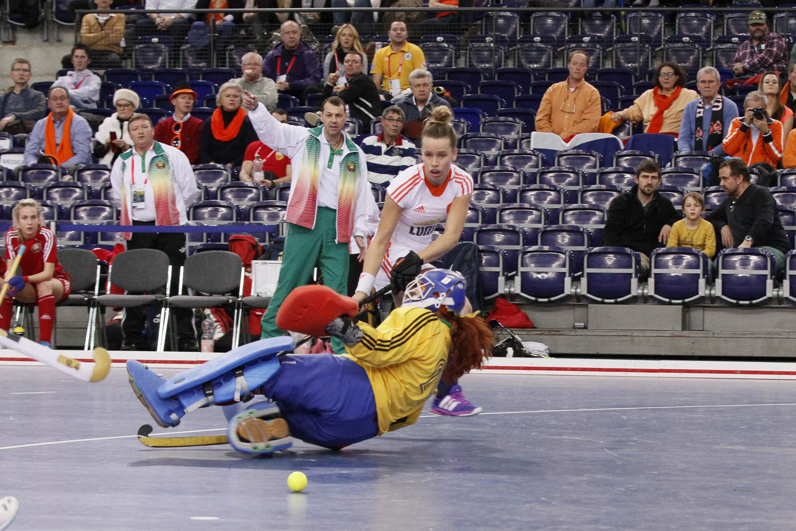 Nederland zaal Oranje dames MdW Hulsen (2)