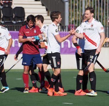 Amsterdam maakte er vandaag een spannende wedstrijd van tegen Klein Zwitserland.