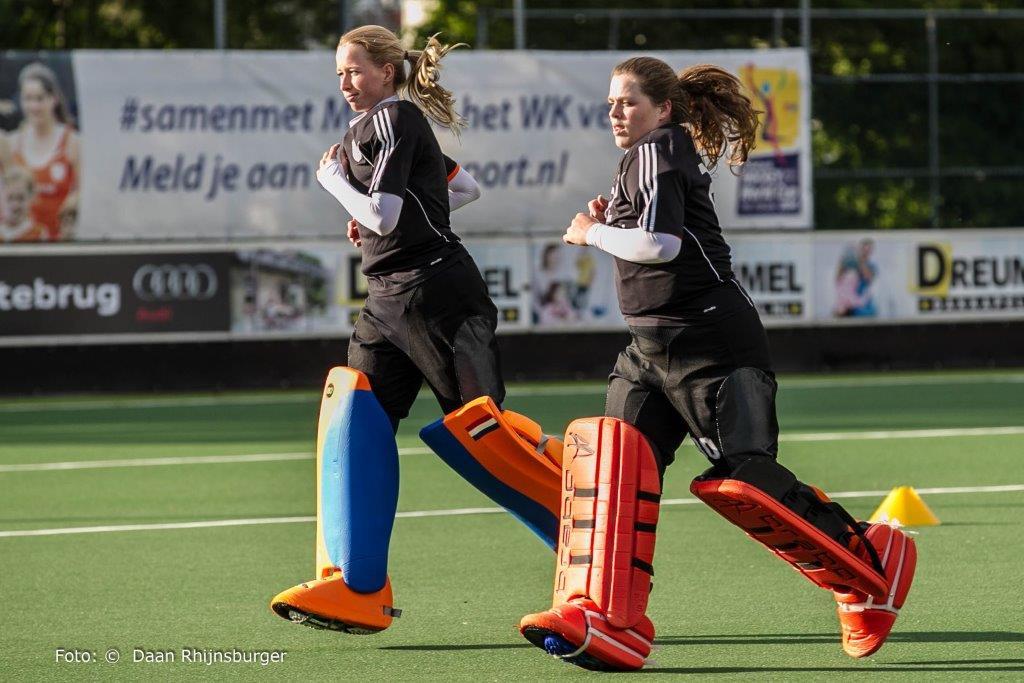 Oranje Dames Nederland Cartouche H1-DR Sombroek Meijer
