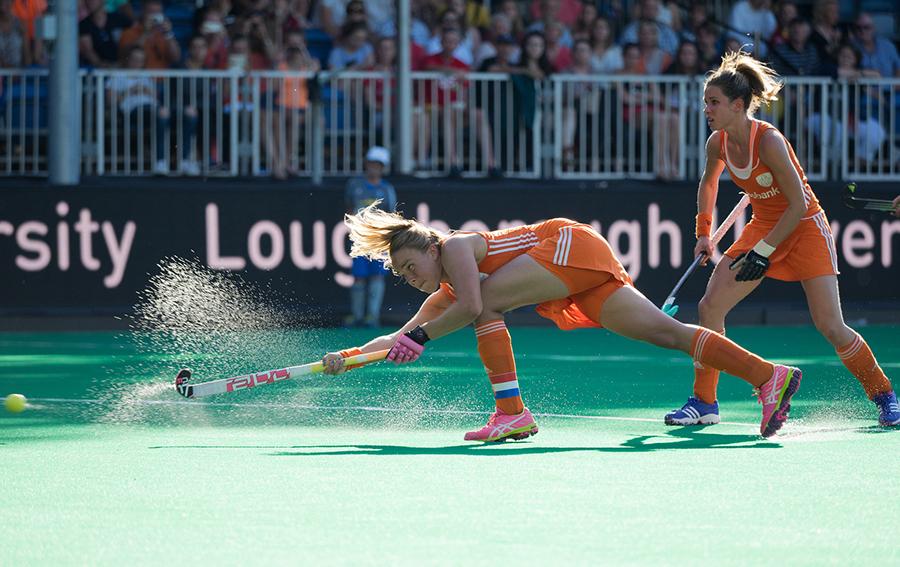 Oranje Nederland India dames RU6992 Paumen