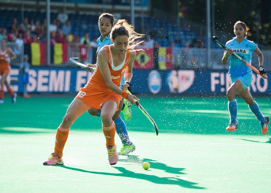 Oranje Nederland India dames RU7674 Zerbo