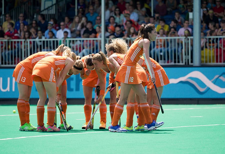 Oranje Nederland Italie dames RU4149