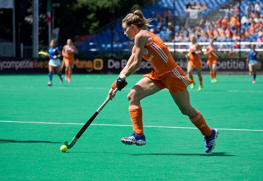 Oranje Nederland Italie dames RU4875 Hoog