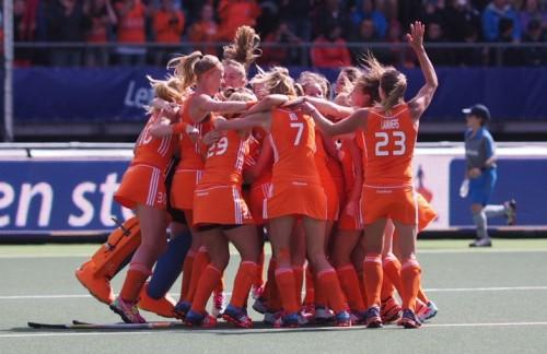 Oranje Nederland WK dames RU