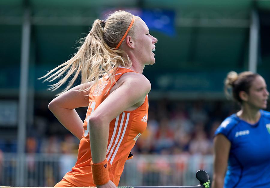 Oranje Nederland dames RU5288 van Maasakker