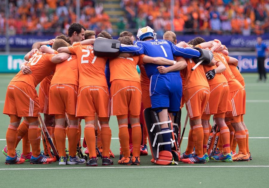 Oranje Nederland heren WK finale RU