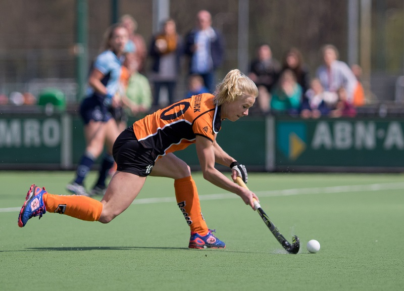 Oranje Zwart OZ Laren dames RU Scheerlinck