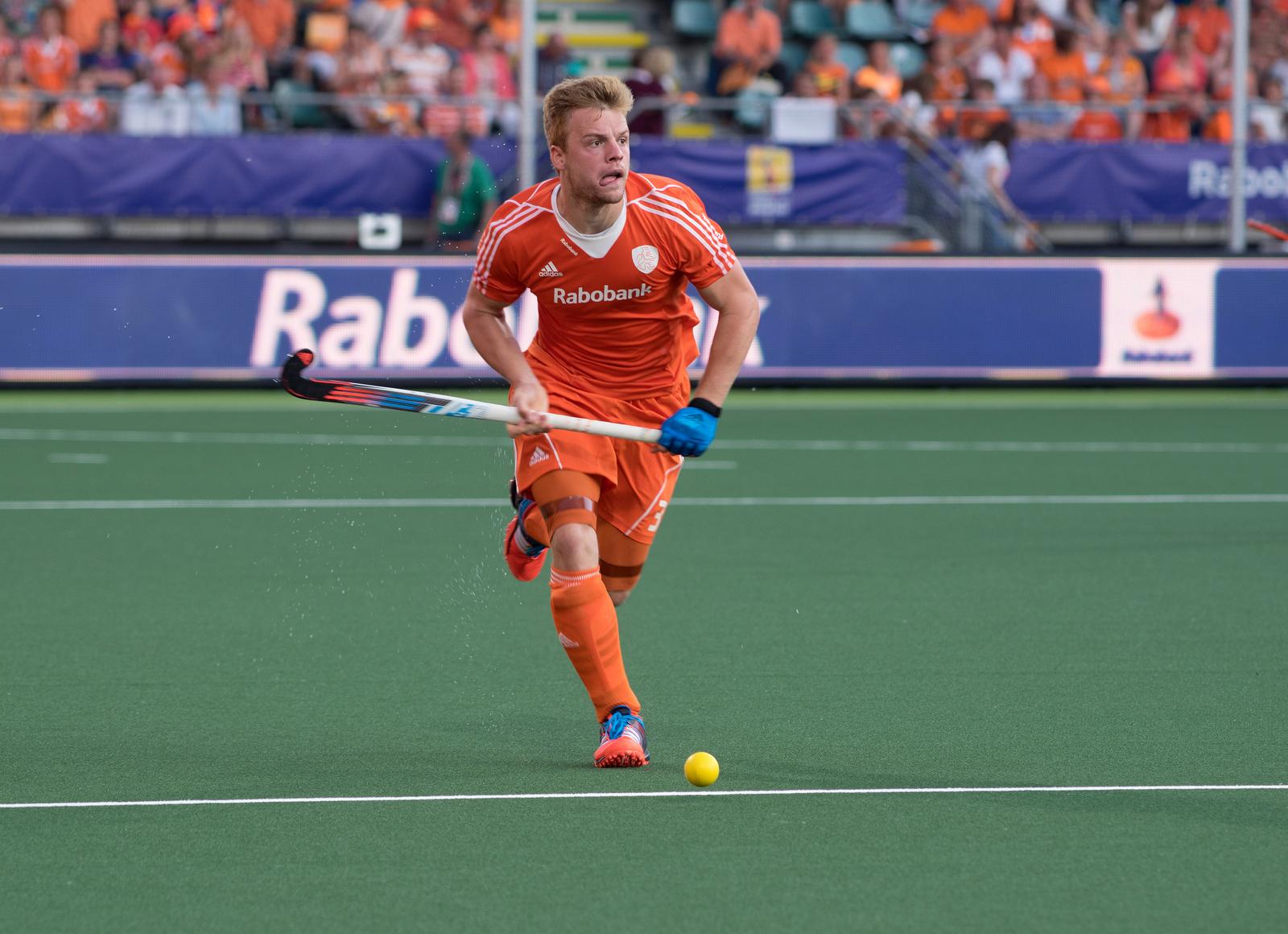 Oranje nederland Zuid-Afrika heren WK RU van der Weerden