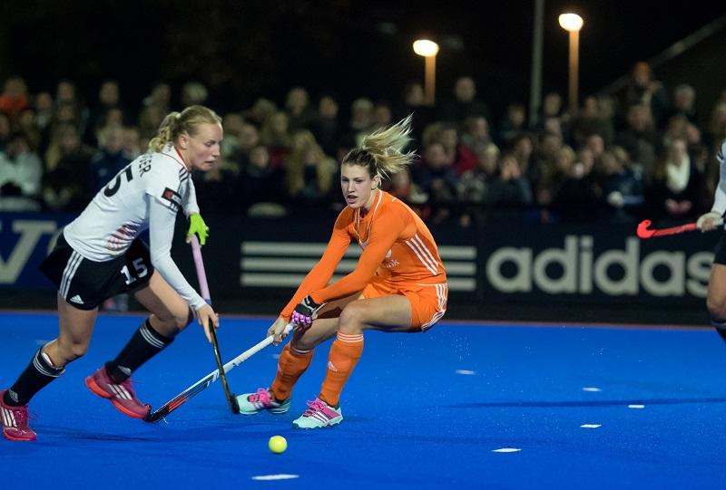 Nederland - Duitsland Oranje dames Magis RU