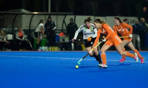 Nederland - Duitsland Oranje dames Hoog RU