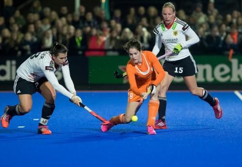 Nederland - Duitsland Oranje dames Keetels RU