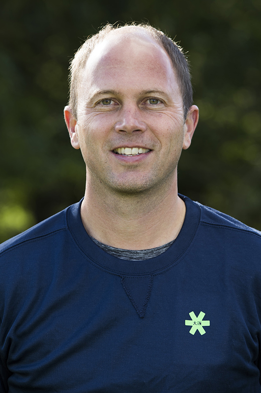 Bloemendaal . coach Teun de Nooijer (Bl'daal) .  Dames I , seizoen hoofdklasse hockey, 2017-2018.  COPYRIGHT KOEN SUYK