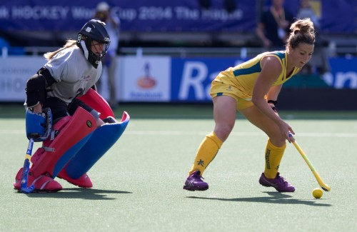 Verenigde Staten Amerika Australië WK dames RU