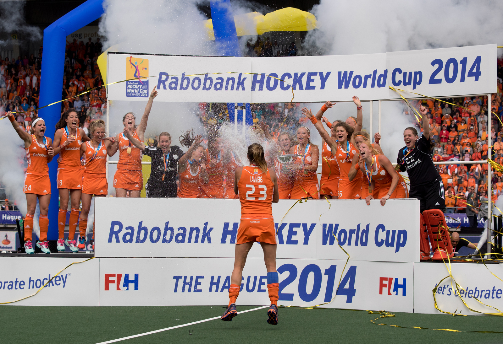 WK finale Oranje Nederland dames RU