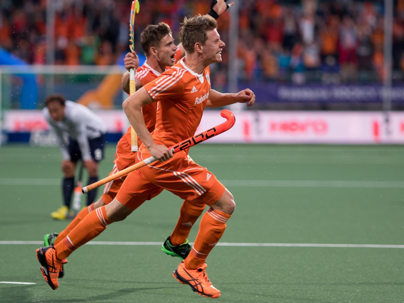 WK heren Nederland Oranje Korea RU Galema de Wijn