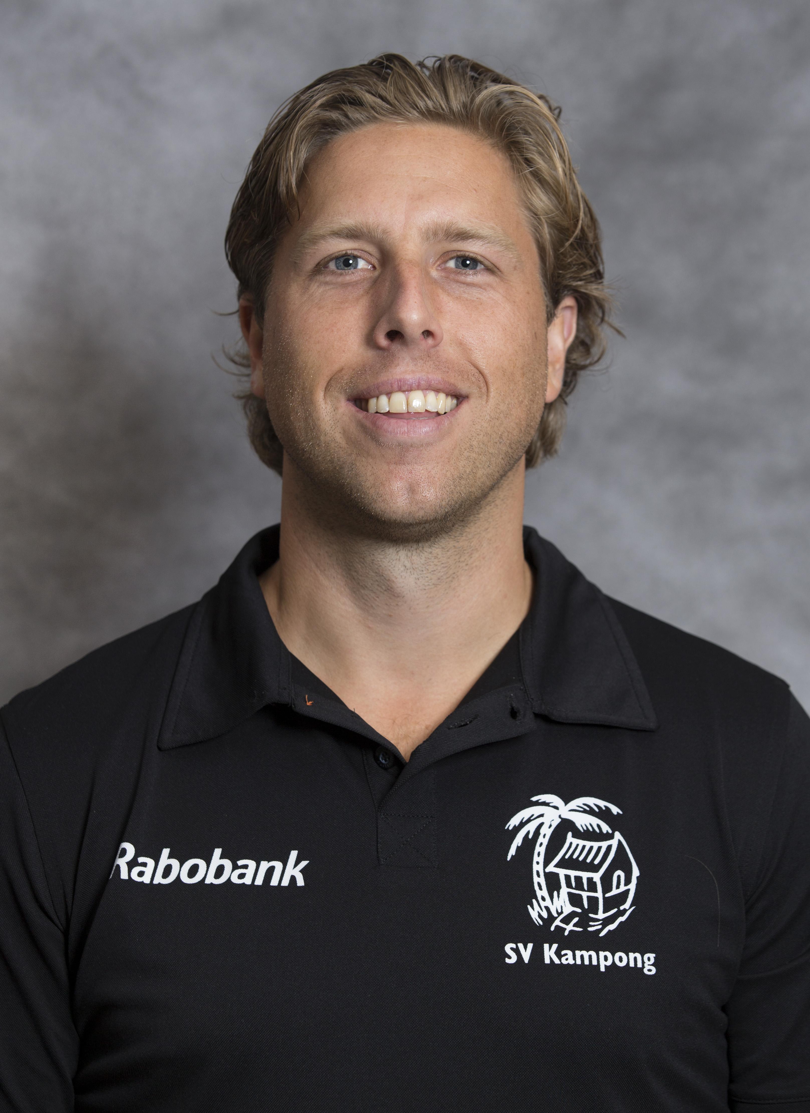 UTRECHT - assistent Roderick Weusthof, Kampong Heren I seizoen 2015-2016. COPYRIGHT KOEN SUYK