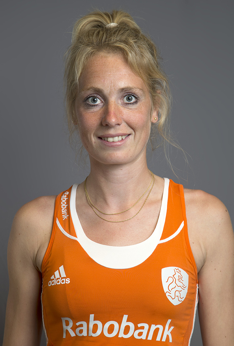 Oranje WK dames Willemijn Bos KS
