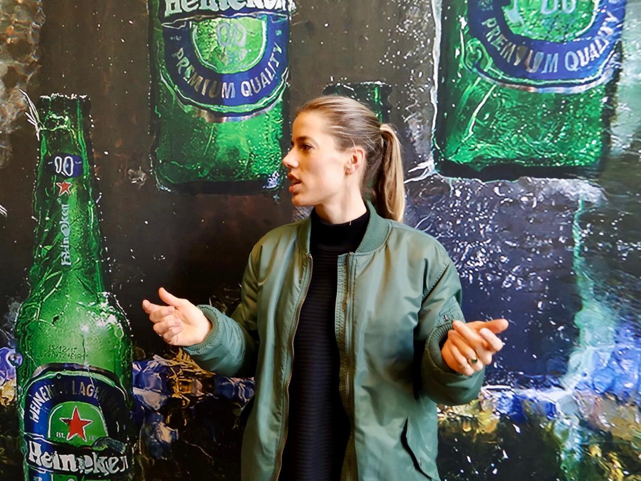 Elsemiek Groen werkt als change manager voor Heineken.