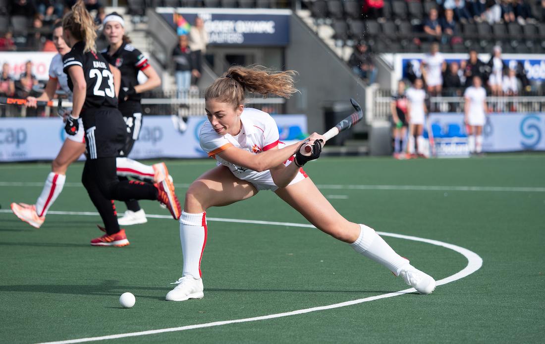 Laura Nunnink speelt komend seizoen voor Hockeyclub Den Bosch. Foto: Roel Ubels