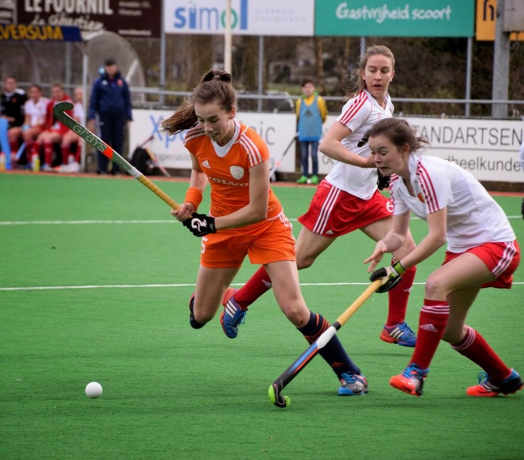 Fay van der Elst Nederlands Meisjes A