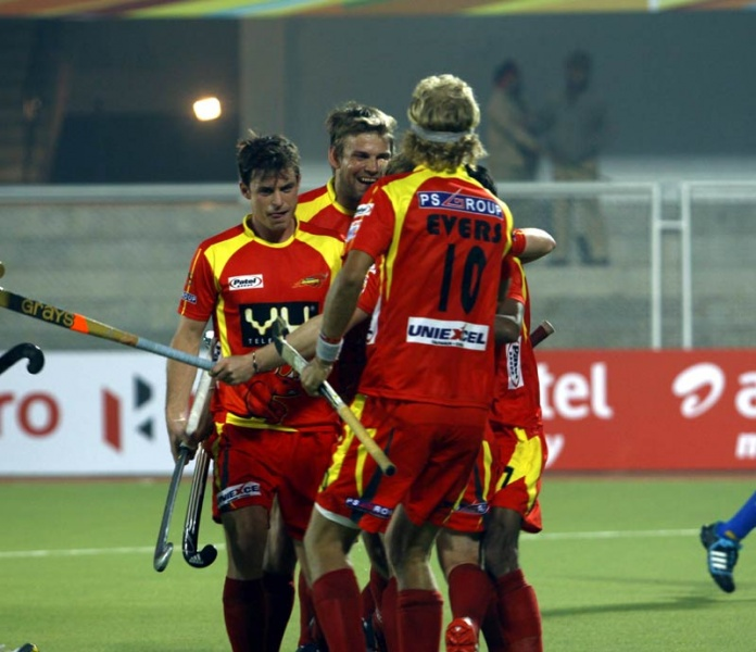 HIL punjab waveriders Ranchi Rhinos Evers